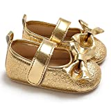 Docooler Newborn Baby Girls Shoes PU Leather Non-Slip Soft Shoes Sole Prewalker...
