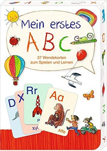 Wendekarten - Mein erstes ABC: 37 Wendekarten zum Spielen und Lernen - Flashcard Ds