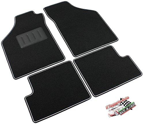 il-tappeto-auto-sprint02301-tappetini-moquette-nera-antiscivolo-bordo-bicolore-salvatacco-rinforzato