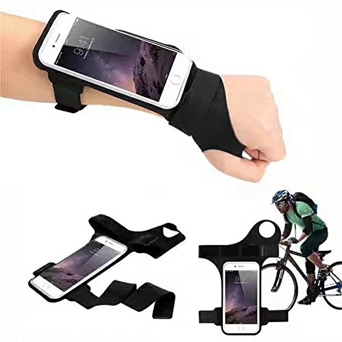 myfei Outdoor Sport Laufen Telefon Arm Tasche, wasserdicht Diebstahlschutz Daumen Handgelenk Belt Armband Handgelenk Bag Radfahren Arm Band (Patch Body Cross)