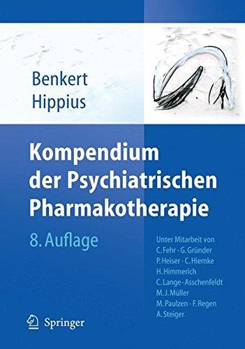 Cover »Kompendium der Psychiatrischen Pharmakotherapie«