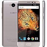 "CUBOT Cheetah2 - Smartphone libre 4G Android 6.0 (Pantalla 5.5"" FHD, Dual SIM, Cámara 8Mp+13Mp, Octa Core, 3GB RAM, 3000mAh batería, Sensor de Huella, Type C 2.0), Color Dorado [CUBOT OFICIAL]"
