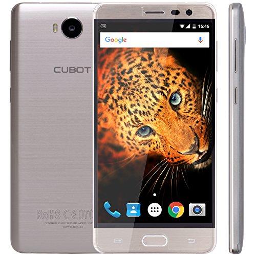 CUBOT Cheetah2 - Smartphone libre 4G Android 6.0 (Pantalla 5.5' FHD, Dual SIM, Cámara 8Mp+13Mp, Octa Core, 3GB RAM,...