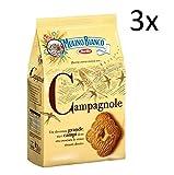 3x Mulino Bianco Kekse Campagnole 700 g biscuits cookies italien kuchen brioche