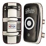 Ringside Fairtex Muay Thai MMA Kickboxing Training Curved Standard Kick Pads (Pair)