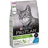 ProPlan Sterilised pour chats stérilisés et/ou castrés, variété lapin,sac de 3 kg.