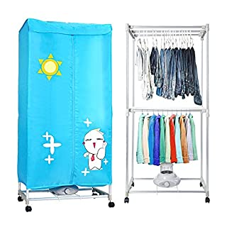 AceFox Electric Clothes Dryer Indoors 1200W Portable Dual Deck Dry Wardrobe Home Machine