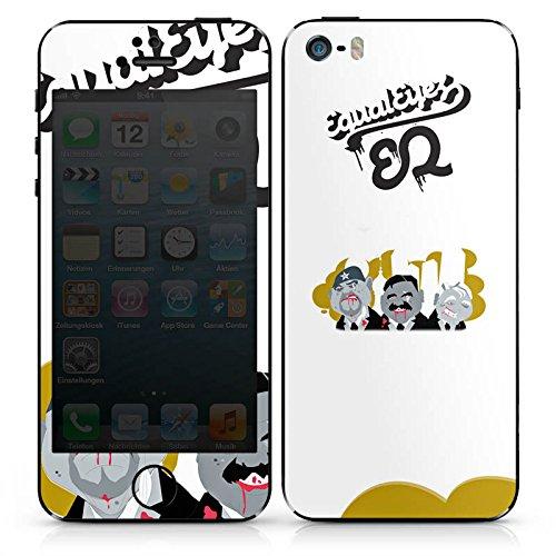 Apple iPhone 4s Case Skin Sticker aus Vinyl-Folie Aufkleber Equaleyez Comic Trio infernale DesignSkins® glänzend