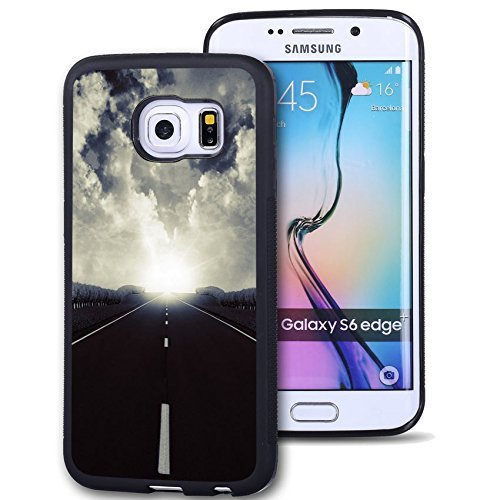 Galaxy S6 Edge Plus Case Personalized Design FTFCASE (TM) Samsung Galaxy S6 Edge+ (NOT For Galaxy S6 Edge) TPU Black Cell Phone Case Ideal road