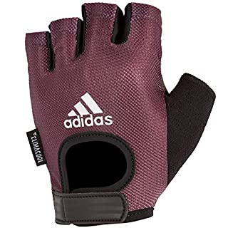 adidas Women's Performance Gloves - Purple, L