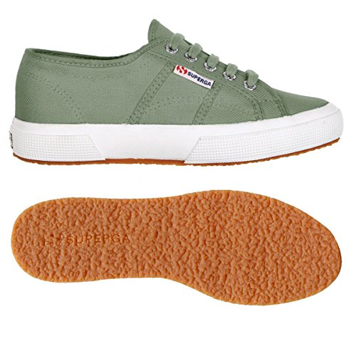 Superga  2790 Acotw, Baskets  mixte adulte GREEN MALACHITE