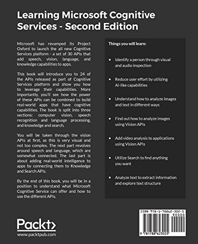 Learning Microsoft Cognitive Services -