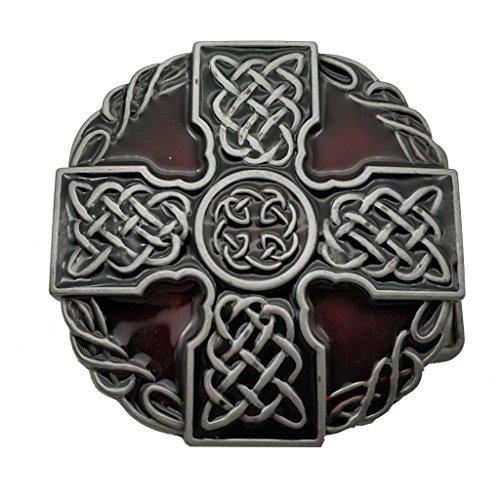 inity Rope Knot Cross Belt Buckle Scottish Kilt Zinc Alloy Gürtelschnallen ()
