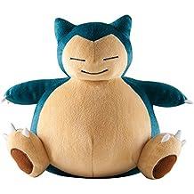 Pokemon Snorlax–Peluche, tamaño grande, color azul