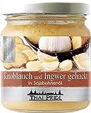 175g Gehackter Knoblauch und Ingwer Mix in Sojabohnenöl Marke THAI PRIDE