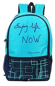 "POLE STAR ""HERO"" 32 Lt T. blue Navy Casual Backpack I bagpack"