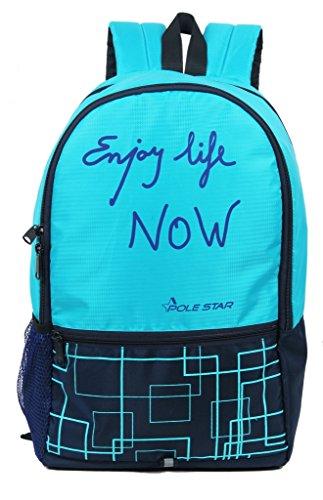 """Pole Star""""Hero"""" 32 Lt Pink Black Casual Backpack I bagpack"""