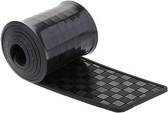 MagiDeal Car Rear Bumper Sill Edge Paint Scratch Protector Guard Cover Plate Black
