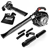 BRAST 4in1 Petrol Leaf Blower Leaf Blower Sepper Chopper Blade Chopper ma Fangsack