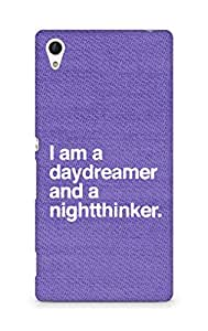 AMEZ daydreamer and night thinker Back Cover For Sony Xperia Z4