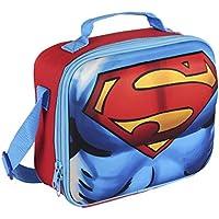 Superman Bolsa Porta Alimentos 3D Azul