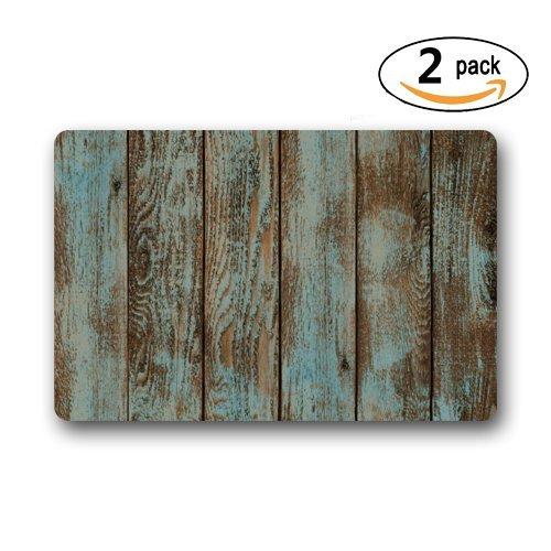 Wood doormats Popular rústico Viejo Granero Madera