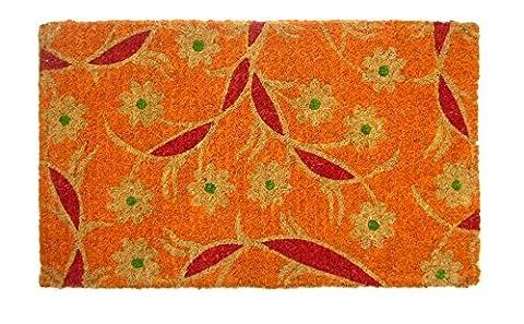 dintex Imperial–Botanic Fabric Coco Doormat, 45x 75cm, Multi-Coloured
