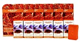 Vaadi Herbals Kesar Chandan Facial Bars with Extract of Orange Peel, 25gm x 6