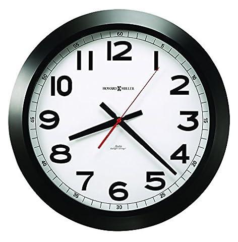 Norcross (automatique daylight-savings Horloge murale, 15–3/10,2cm Noir, 1AA