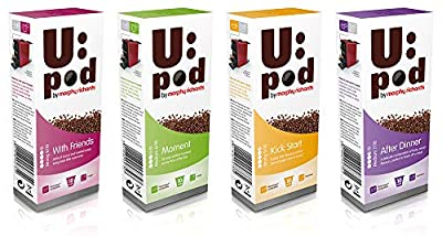 Morphy Richards 80 Nespresso Compatible Coffee Pack of 80 UPod Coffee Pods 4 Flavours from Morphy Richards
