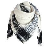 Glamexx24 XXL Schal Kuschelige, warme und wunderschöne Damen Poncho Schal mit verschiedenen Muster Schal Poncho P0014