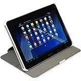 StilGut Ultra SlimCase mit Standfunktion für Samsung Galaxy Tab 2 10.1 P5100/ P5110 in Weiß