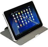 StilGut, UltraSlim, pochette avec fontion de support pour le Samsung Galaxy Tab 2 (P5100) 10.1 en blanc