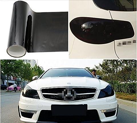 30,5x 121,9cm Tint Auto Scheinwerfer, Rücklicht Vinyl Smoke Film Blatt Aufkleber