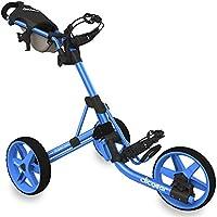 Clicgear CLICT35BL Carros De Golf, Unisex Adulto, Azul, Regulable