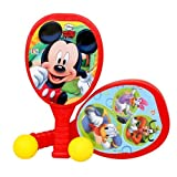 Disney My First Plastic Racket Set - Mickey, Red