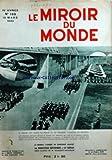miroir du monde le no 159 du 18 03 1933 pierre cot passe en revue le 34eme regiment d aviation au bourget jeunes filles nippones