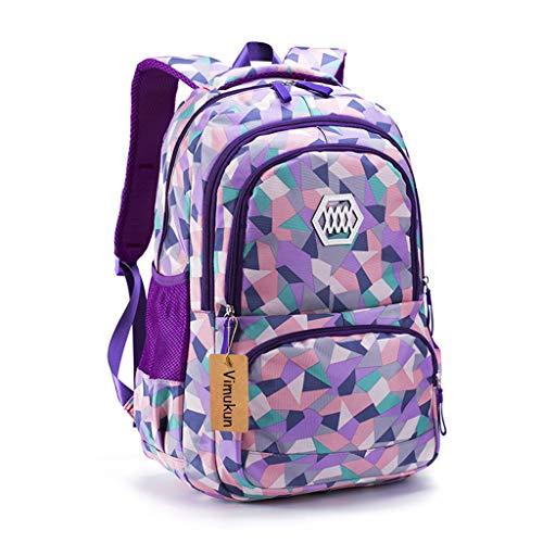 Kinderrucksäcke Schulrucksäcke Schultasche Daypacks Backpack für Kinder Mädchen Jungen Jugendliche Schulrucksäcke mit Gurt Groß 18.8
