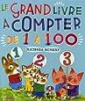 Le grand livre à compter de 1 à 100