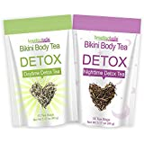 Brazilian Belle Bikini Body Detox & Cleanse Bundle Pack (30 Tea Bags) Boost Energy, Manage Weight, Fight Bloating & Reduce St