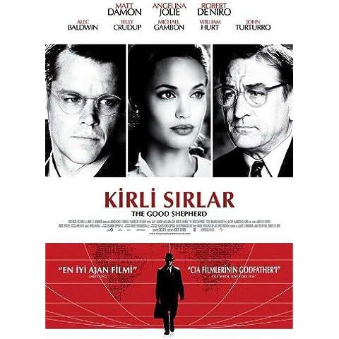 The Good Shepherd Movie Poster turco, 69 x 102 cm Matt Damon Robert De Niro Angelina Jolie Joe Pesci