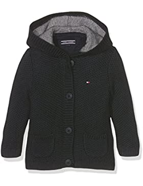 Tommy Hilfiger Baby-Jungen Strickjacke Solid Texture Hd Cardigan L/S