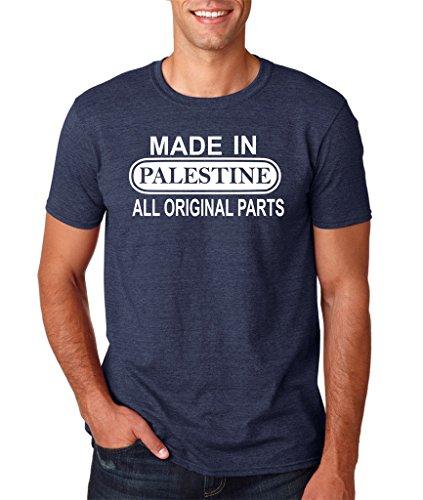 Daataadirect Herren T-Shirt Marineblau (Heather Navy)