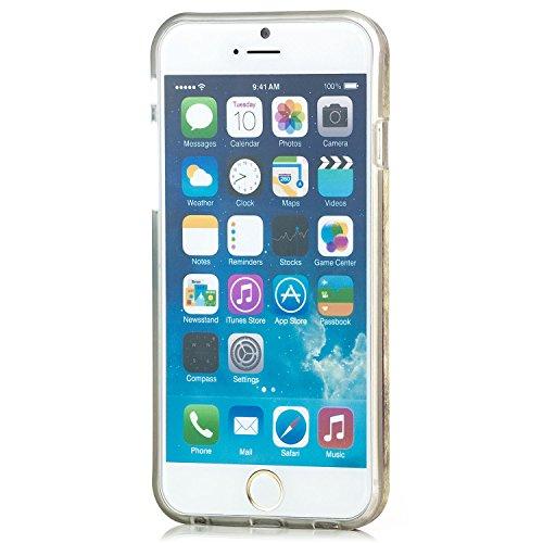 Saxonia Schutzhülle für Apple iPhone 6 / 6S Slim Case Hülle mit Motiv Affe USA Flagge