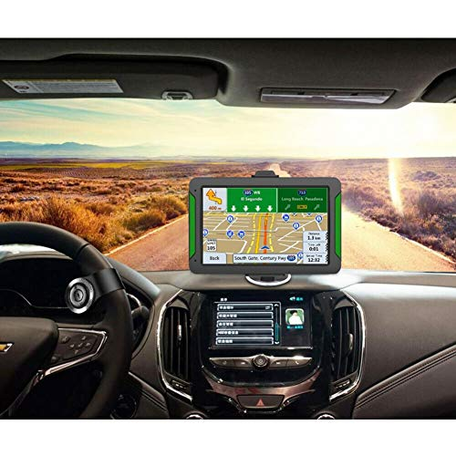 TEEKOO Car Truck GPS Navigation System, 7Inch Touch Screen Europe Map Navigator for Home Car Use