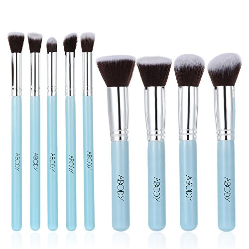 abody-9pcs-makeup-brush-kit-wood-professional-cosmetic-set-foundation-brush-powder-brush-eyeshadow-b