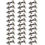30 x SO-TECH® Topfband Topfbänder T52 Eckanschlag mit Dämpfer + Kreuzplatte Scharnier Scharniere Topfscharniere (Einzeln und als 6er, 10er, 20er oder 30er Set erhältlich!)