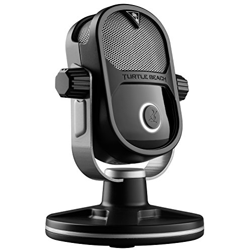 Price comparison product image Turtle Beach Universal digital USB Stream Mic with TruSpeak - Xbox One,  Xbox One S,  PS4,  PS4 Pro and PC