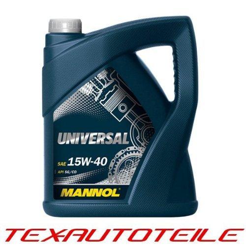 Preisvergleich Produktbild MANNOL Universal 15W-40 API SG/CD Motorenöl, 5 Liter