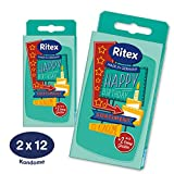 Ritex HAPPY BIRTHDAY, Kondom Mix-Pack, 24 Stück, Made in Germany